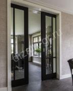 Раздвижные двери со стеклом