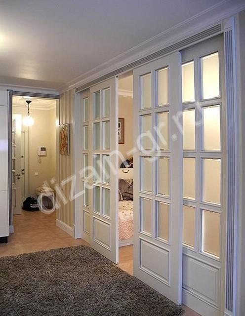 Классические раздвижные двери