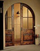 Двери состаренные