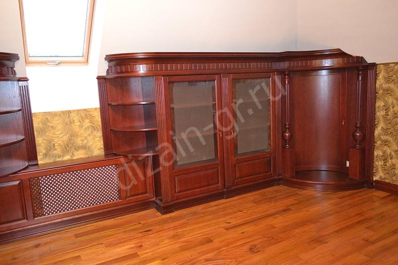 Встроенные шкафы в кабинете