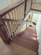 Лестница с забежными ступеньками
