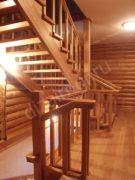 Лестница без подступенков