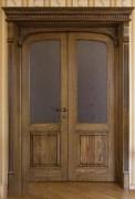 Арочные двери со стеклом