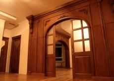 Арочные раздвижные двери